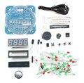Venda quente DIY DS1302 rotação LED relógio eletrônico Kit terno 51 SCM aprendizagem conselho frete grátis