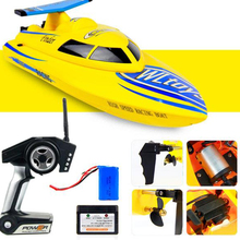 WL911 RC Boat 4CH 2.4G 24km/h Racing RTF Waterproof Remote Racing Boat Speedboat Outdoor Toys for children