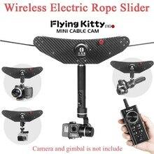 Greenbull летящий котик Pro мини кабель Cam съемки оборудования Электрический Веревка слайдер для DJI Осмо и Gopro Gimbal