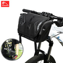 Waterproof Bike Bag Handlebar Front Frame Tube Bag MTB Road Bike Pouch Case Bicycle Shoulder bags Men Women Cycling Accessories tourbon vintage bicycle handlebar bag cycling backpack frame case full genuine leather pouch bike accessories