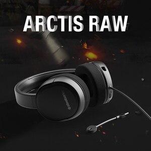 Image 3 - Steelseries Arctis Raw jeu casque casque e sports jeu casque téléphone portable lourd basse réduction du bruit CF
