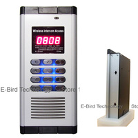 Multi function smart apartment intercom system not only by keyboard to open door but also by free call