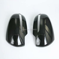 For Suzuki SX4 S-Cross 2017 2018 Rear View Mirror Cover Front Door RearView Mirrors Trim Carbon Fibre Car Styling Accessories
