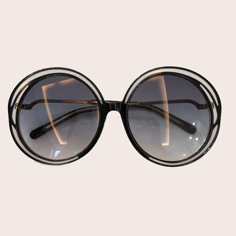 Frauen Vintage Sonnenbrille Brillen Rahmen No1 Sunglasses no3 Weibliche Acetat Sunglasses no4 Sunglasses no2 Sunglasses Mode Runde Hochwertige Markendesigner Ew1fAYtx