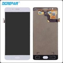 """5.5 """"pulgadas en Blanco Para Uno Más 3 OnePlus 1 + 3 Un A3000 Pantalla LCD Táctil Digitalizador Asamblea Completo Reemplazo Del Envío gratis"""