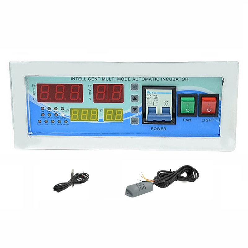XM-18E Multifunction Controller Temperature Humidity Incubator Household Automatic Controller Incubator Egg Hatcher With Sensor