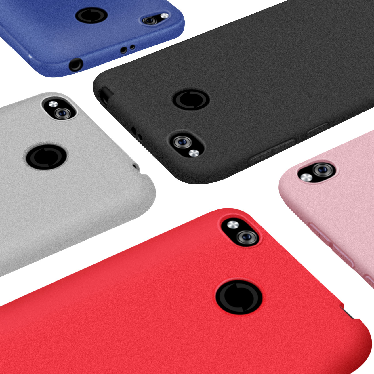 Matte TPU Case For Xiaomi Redmi 4X Case 4A Note 4X 5 Plus Case Redmi Note 5 5A 6A 6X Redmi S2 Mi 8 5X A2 Mix 2 Soft Phone Case in Fitted Cases from Cellphones Telecommunications