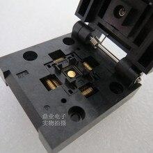 QFN-40BT-0.4-01 QFN40 5X5 мм Шаг 0,4 мм burn-в гнездо золотое покрытие тестовая плата для интегральных схем сиденье Тесты гнездо Тесты скамья