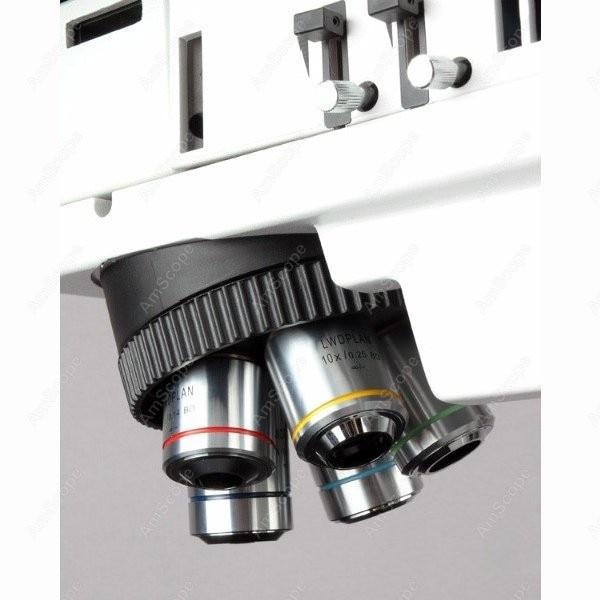 Metallurgical Microscope-AmScope Supplies50X-750X Polarizing Darkfield Metallurgical Microscope with 3MP Digital Camera