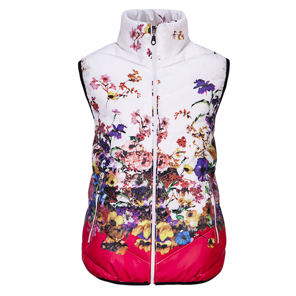 New-2016-Fashion-Winter-Vest-Women-Cotton-Down-O-Neck-Printed-Flowers-Women-Jacket-Vest-Coat (2)