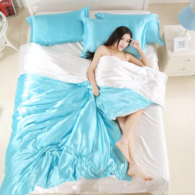100% Pure Satin Comforter Set