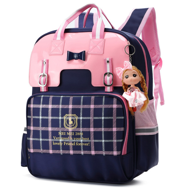 ALI VICTORY British Style Girls Backpacks for School
