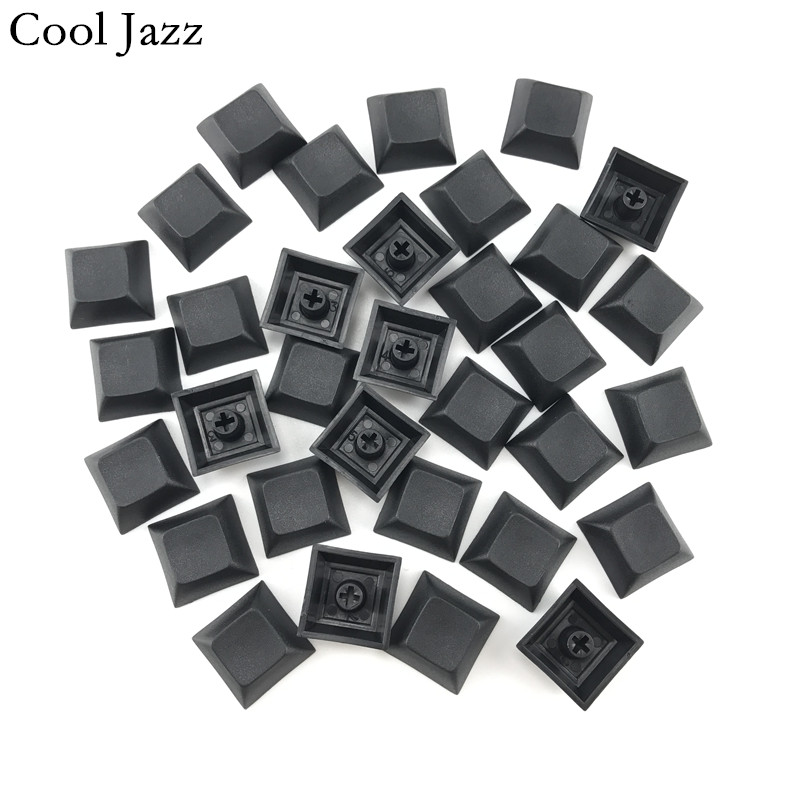 Cool Jazz Dsa Pbt Cherry Mx Mechanical Keyboard Keycaps 1u Mixded Color Black Gray Red Esc Keycap For Gaming Mechanical Keyboard