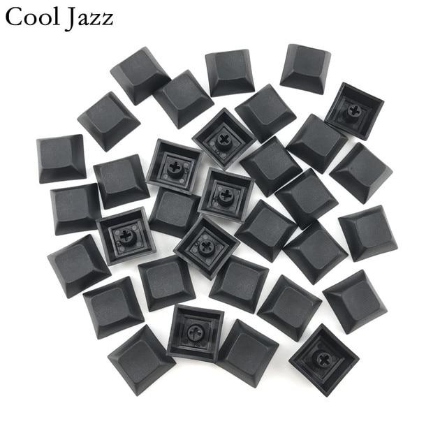 クールジャズdsa pbtチェリーmxメカニカルキーボードキーキャップ1u mixded色ブラックグレー赤escキーキャップ用ゲーミングメカニカルキーボードキーボード
