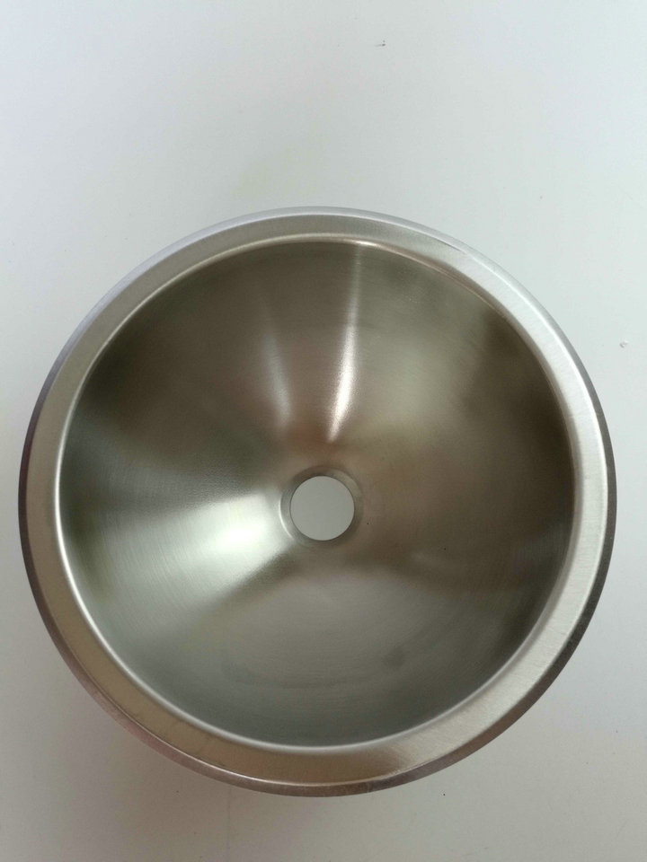 rv caravan camper boat ss round hand wash basin kitchen sink 265120mm gr