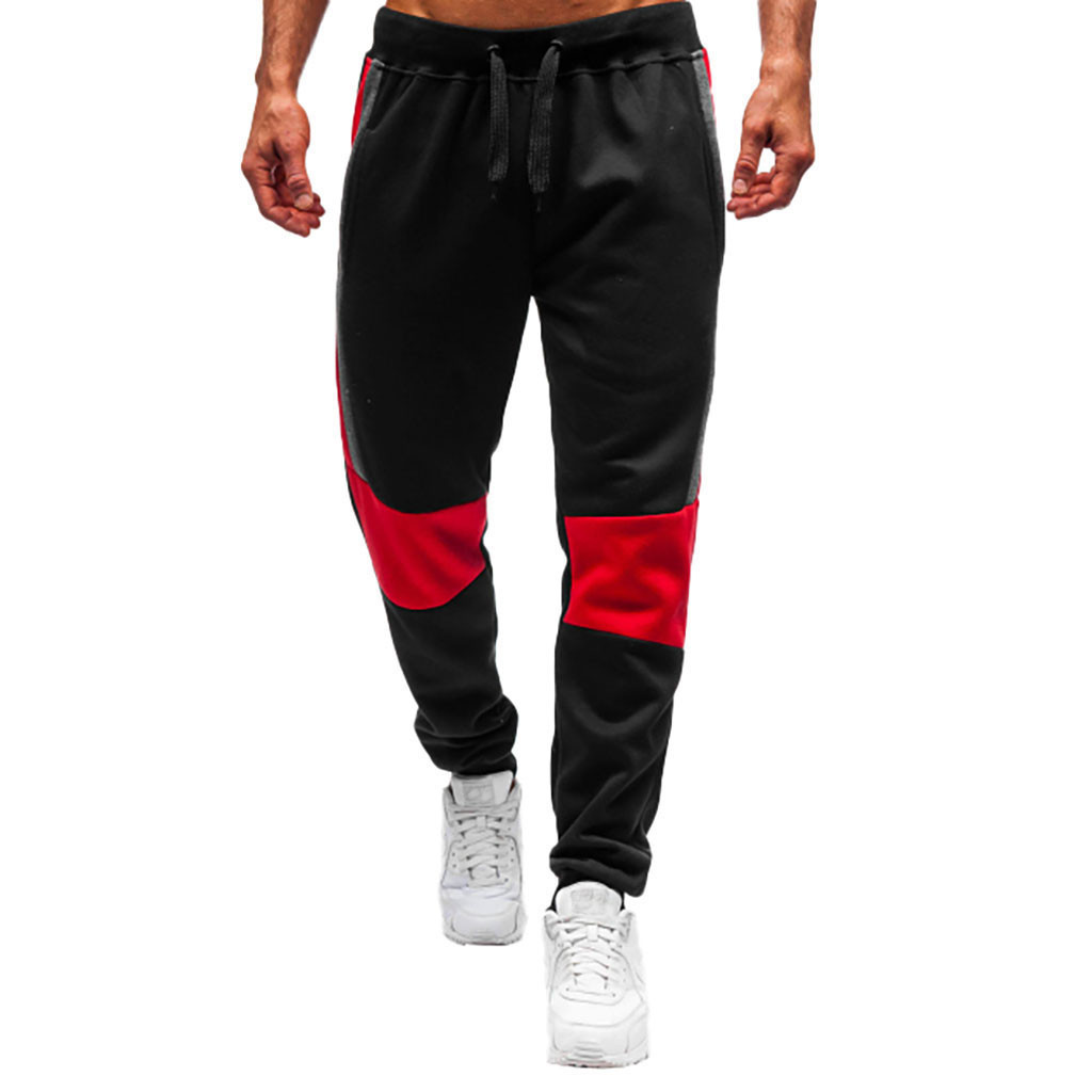Men Pants Streetwear Gym Jogging Pants Men Sorts Elastic Waist Joggers Sweatpants pantalones hombre Full Length Pants 19APR18