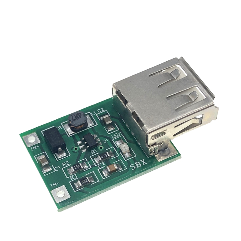 1 stücke DC-DC USB Ausgang ladegerät step up Power-Boost-Modul 0,9 V ~ 5 V bis 5 V 600MA USB Mobile Power-Boost-Board