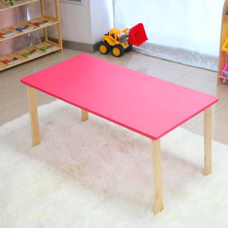 Children Tables Kids Furniture Solid Wood Kids Table Bureau Enfant Study Table Mesa Infantil Pupitre Infantil 100*50*60cm Sale Children Tables Children Furniture