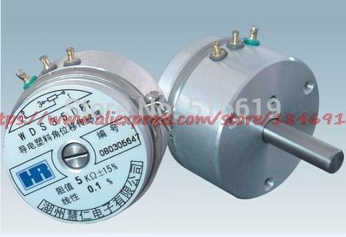 Free Shipping High Precision Potentiometer/high Resolution Angle Sensor /WDD35D8T Conductive Plastic Angular Displacement Sensor