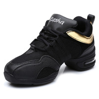 Dance Shoes For Women Soft Outsole Breath Girls Practice Shoes Modern Jazz Dance Shoes Sneakers