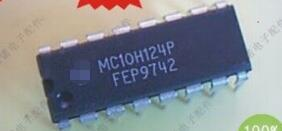 100% new original MC10H124P DIP16