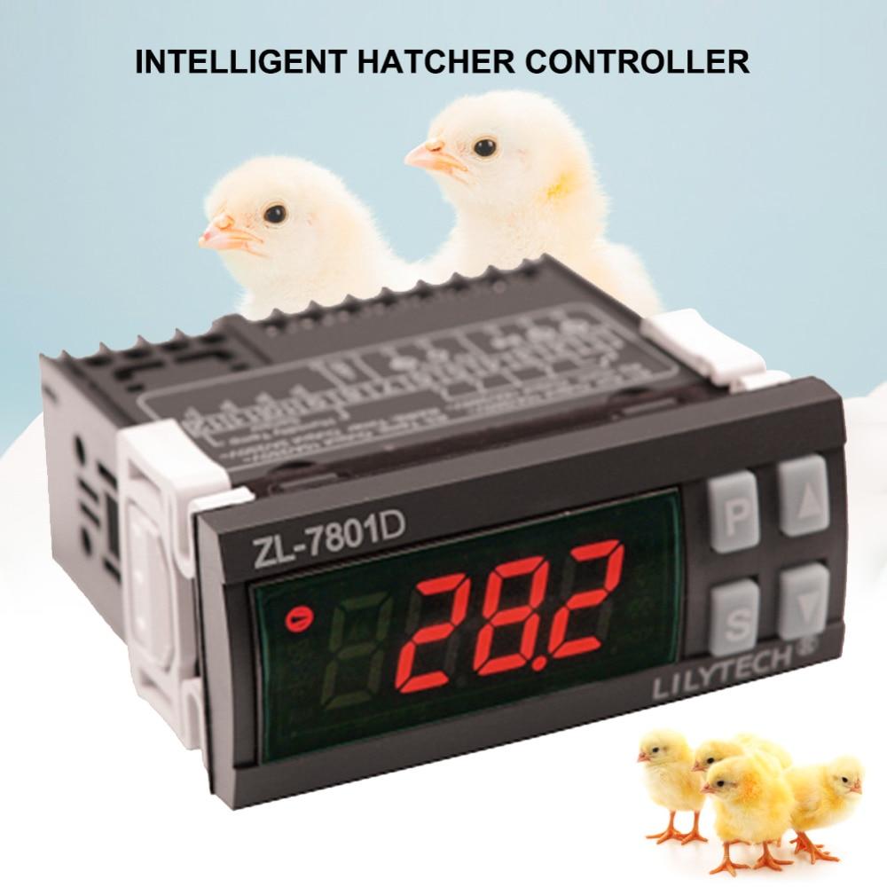 Yieryi ZL 7801D LCD ฟักไข่ไข่ Controller Incubator อุณหภูมิความชื้น Controller Egg Incubator 110 240 (V)-ใน กรงและอุปกรณ์เสริม จาก บ้านและสวน บน AliExpress - 11.11_สิบเอ็ด สิบเอ็ดวันคนโสด 1