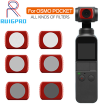 DJI OSMO Filter For DJI OSMO Pocket MRC-UV ND4 ND8 ND16 ND32 CPL UV STAR Filter for DJI Mavic Air Camera Lens filter Accessory стоимость