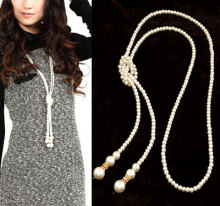 Fashion Simulated Pearl Jewelry Necklace for Women