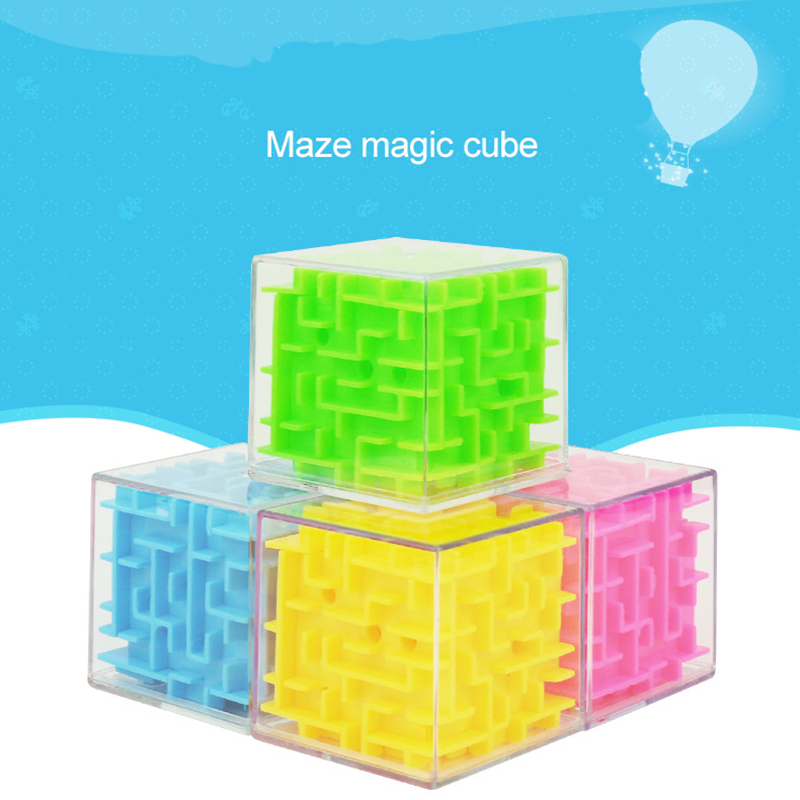 Tireless Mini 3d Puzzle Maze Ball Child Intelligence Cube Toy Stereo Finger Toy Beneficial Wisdom Magic Cube Educational Toys Gf89 Puzzles & Games Toys & Hobbies