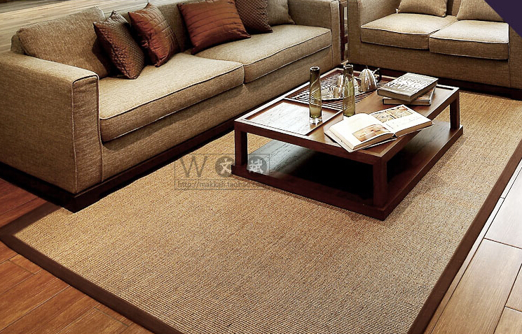 100 natural sisal carpet for bedroom green living room for Floor 80 100 floors