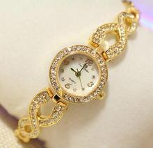 BSFA1224 Новая Мода часы для женщин Горный Хрусталь кварцевые часы relogio feminino женщины наручные часы платье мода часы reloj mujer