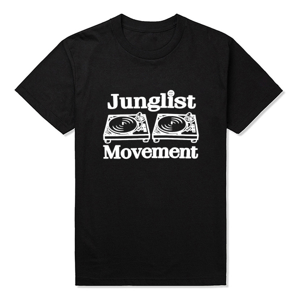 Junglist Movement Lady 80/'S T-shirt Cotton Touch Tee Crop Woman Top