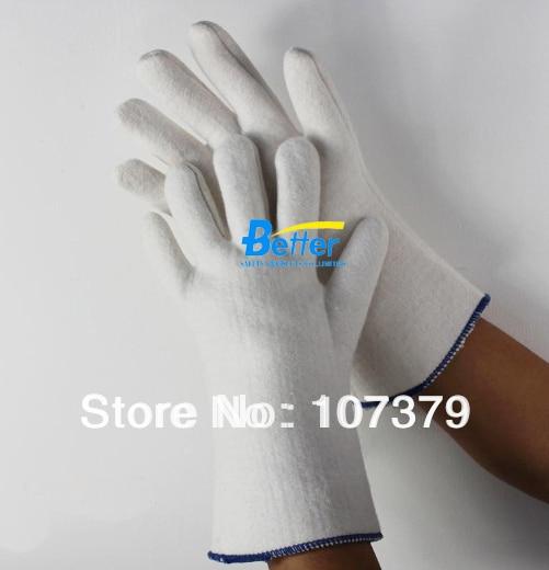 New Welding Glove Aramid fiber Safety Glove 200 Centigrade Degree Aramid Fiber Caston Heat Resistant Work Glove maritime 1 1 aramid fiber version helmet 9 mm ballistic experiment safety