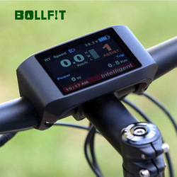 Bollfit Bafang wyświetlacz LCD 750C kolorowy ekran TFT do zestawu do konwersji BBS02 BBSHD w Akcesoria do rowerów elektrycznych od Sport i rozrywka na