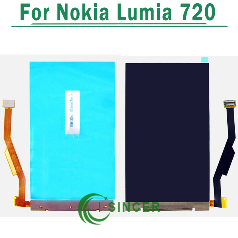 1/PCS LCD Display For Nokia Lumia 720 N720 lcd Screen Display Replacement parts