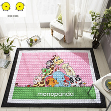 Baby Play Mat Pad Round Carpet Rugs Cotton Animal Playmat Newborn Infant Crawling Mat Blanket Floor Carpet Kids Room Decor цены онлайн