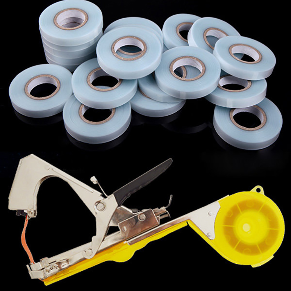 30m Garden Vine Organized Band Rope Fruit Vegetable PVC Tape For Plants Tape Tool Random Color