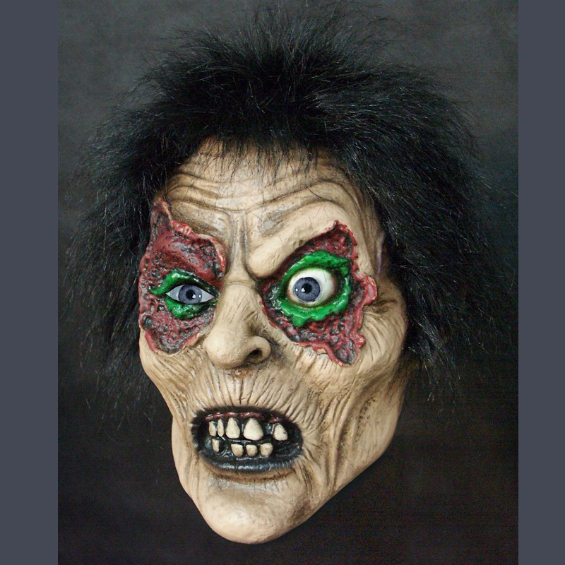 Adult Latex Mask Horror Demon Creepy Zombie Mask Scary