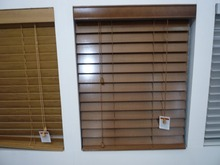 100% basswood window paint wood blinds shutter with steel high hedrail and wooden bottomrail