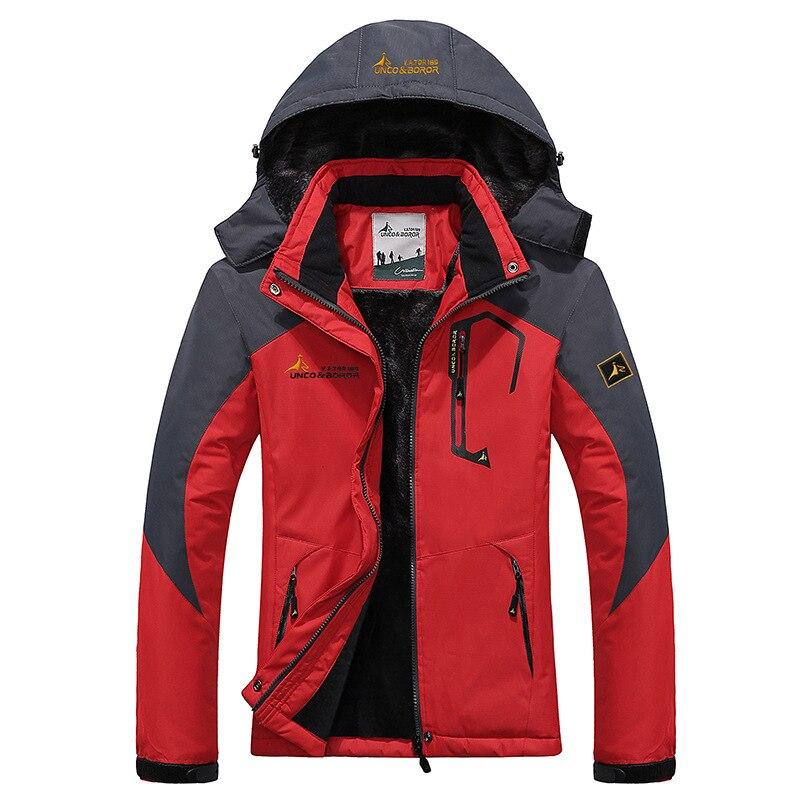 Skiing Jackets Skiing & Snowboarding Professional Sale The Arctic Light Hiking Jacket Ski Winter Outdoor Sport Windproof Waterproof Coat Men Thermal Soft Shell Fleece Jacket 2 In 1