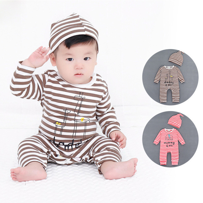 Baby Rompers Baby Girl Clothes Cotton Kids Jumpsuit Boy Pajamas Newborn Infant Girl Boys Clothes Baby Costumes Bebes Outfit Cute