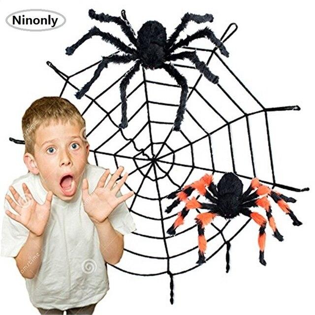 Halloween Spiders | Halloween Spiders Halloween Decorations Thrilling Large Size Plush