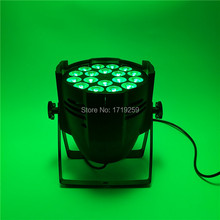 8pcs/lot  LED Par 18x12W RGBW 4in1 Quad LED Par Can Par64 led spotlight dj projector wash lighting stage uplight