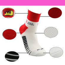 Mens Running Socks High Elasticity Breathable Quick Dry fit 40-45