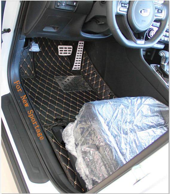 Laba kvalitāte! Speciālie grīdas paklāji jaunajam KIA Sportage - Auto salona piederumi