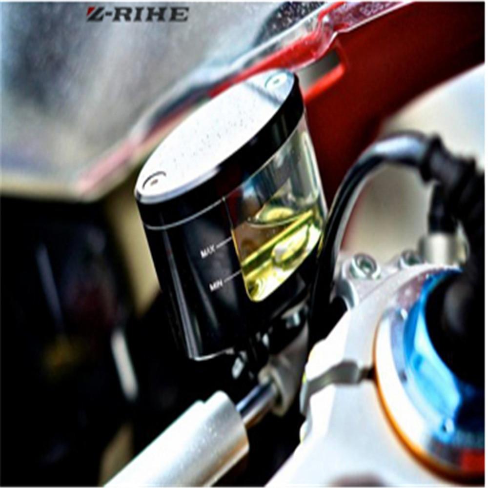 FOR HONDA KAWASAKI Z 800 Motorcycle Motorbike CNC Brake Clutch Pump Oil Fluid Tank Reservoir Cup with Bracket Holder Universal
