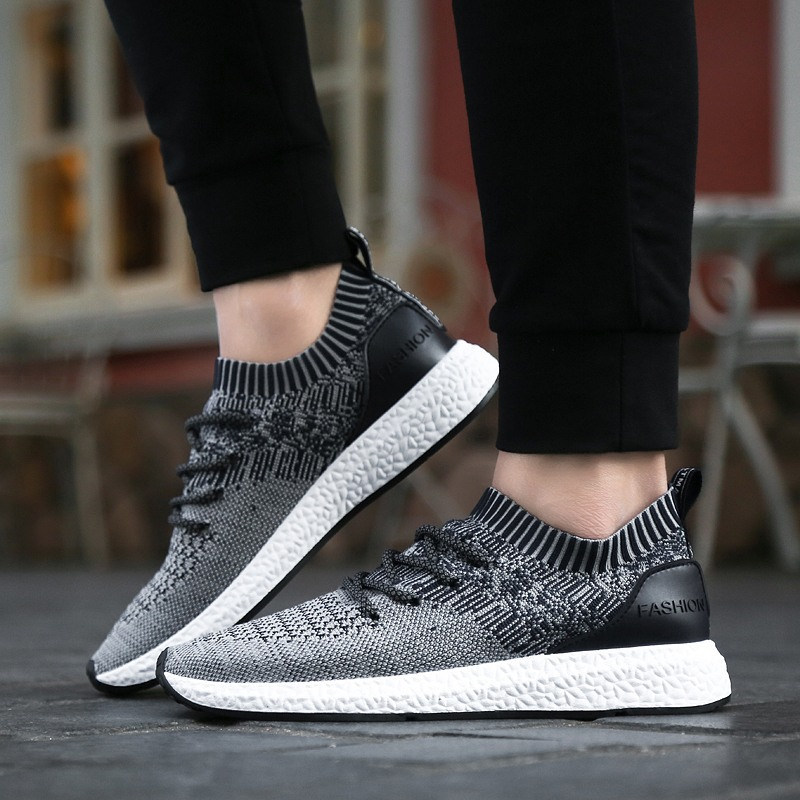 Men Sneakers Comfortable Shoes Men Fashion Slip On Men's Casual Shoes Personality Design