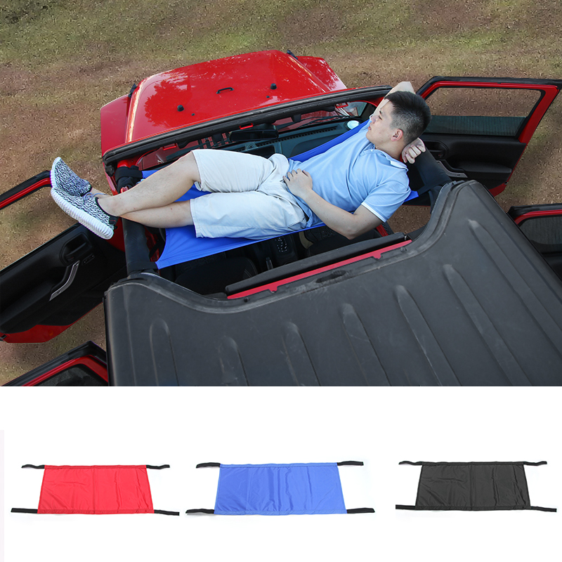 Jeep Wrangler Seat Covers >> MOPAI New Style Car Roof hammock For Jeep Wrangler 2007+-in Automobiles Seat Covers from ...