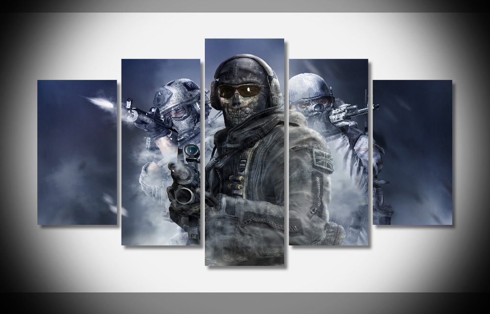 P3039 call of duty modern warfare 2 weapons special forces Poster Framed Gallery wrap art print home wall decor wall picture