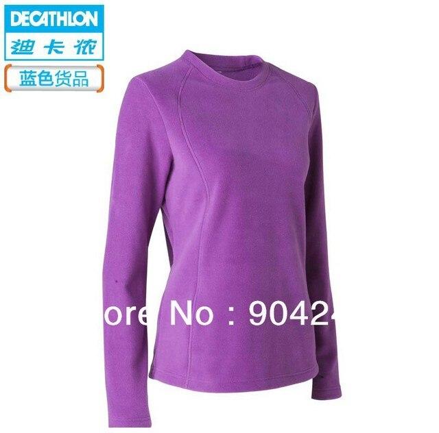 livraison gratuite decathlon polaire chaude vestes molletonnées  marchandises femelle multicolore quechua du liner bleu 301da8984f9